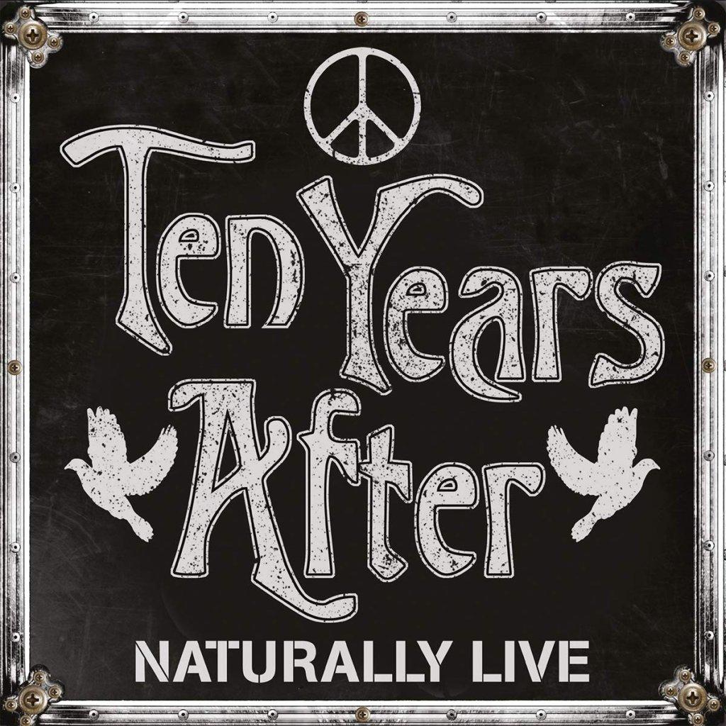 VINYLO.SK | TEN YEARS AFTER - NATURALLY LIVE [2LP] 180g GATEFOLD / LIVE ALBUM / INCL BONUS TRACK / BLACK VINYL