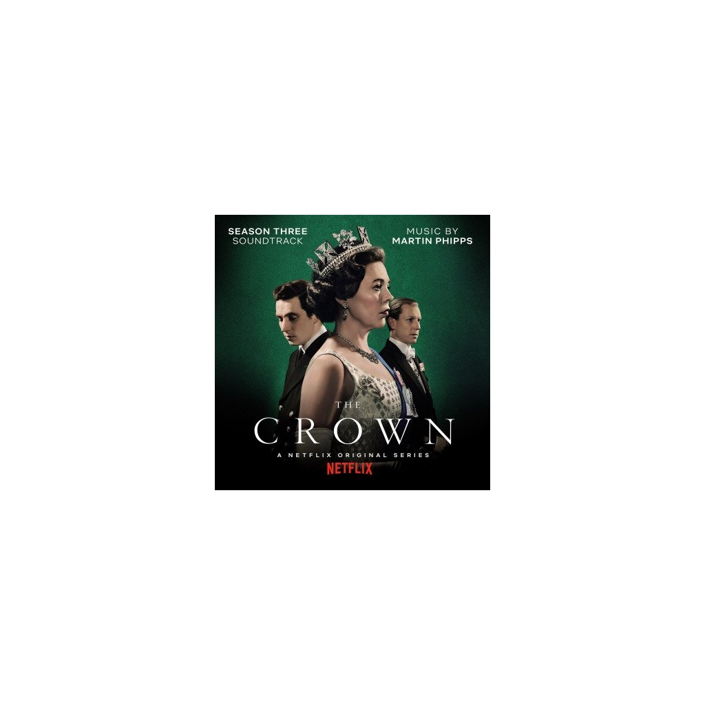 VINYLO.SK | OST - CROWN SEASON 3 (LP)180GR./4P BOOKLET/MARTIN PHIPPS/750 CPS GREEN MARBLED