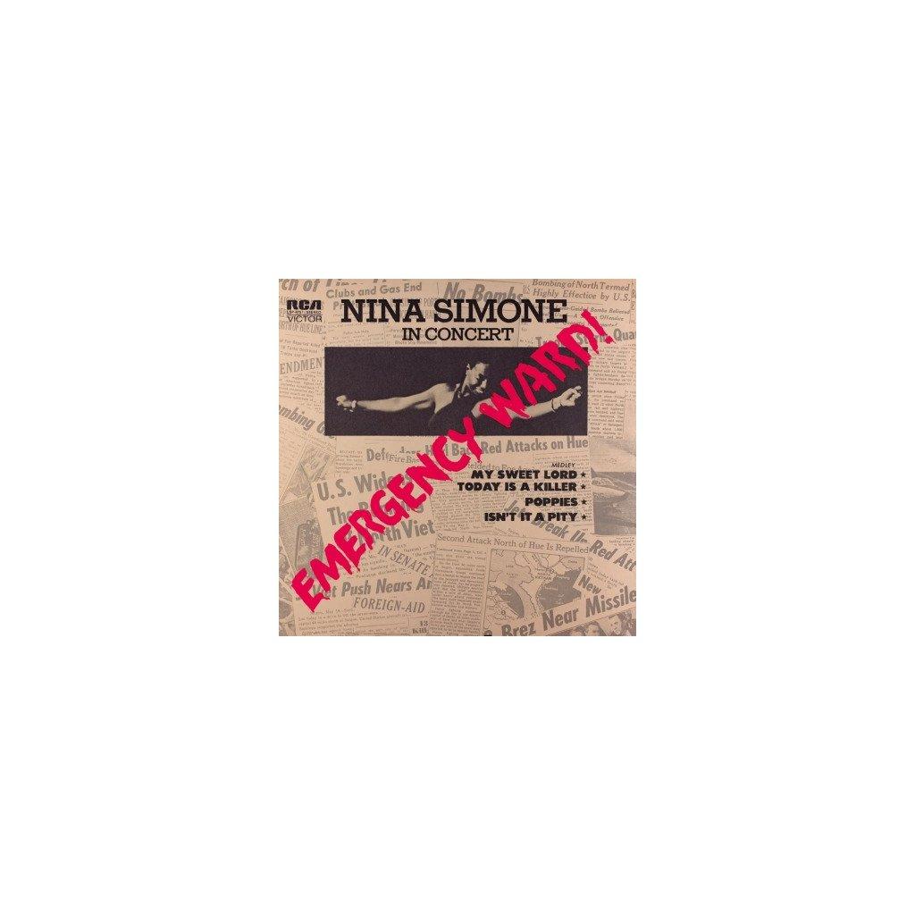VINYLO.SK | SIMONE, NINA - EMERGENCY WARD (LP)180GR./INSERT/1972 ALBUM/1000 CPS TRANSPARENT RED VINYL