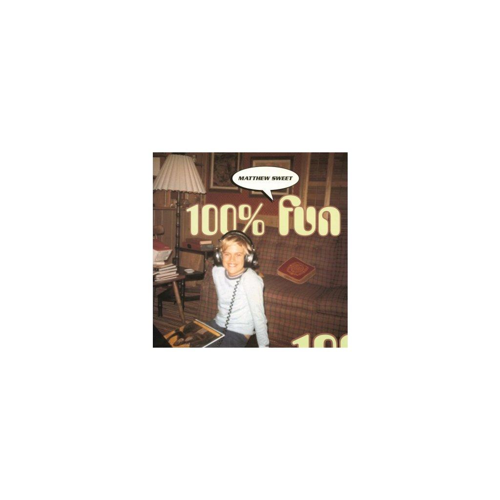 VINYLO.SK | SWEET, MATTHEW - 100% FUN (LP)180GR/INSERT/25TH ANN/1000 NUMBERED CPS ON ORANGE VINYL