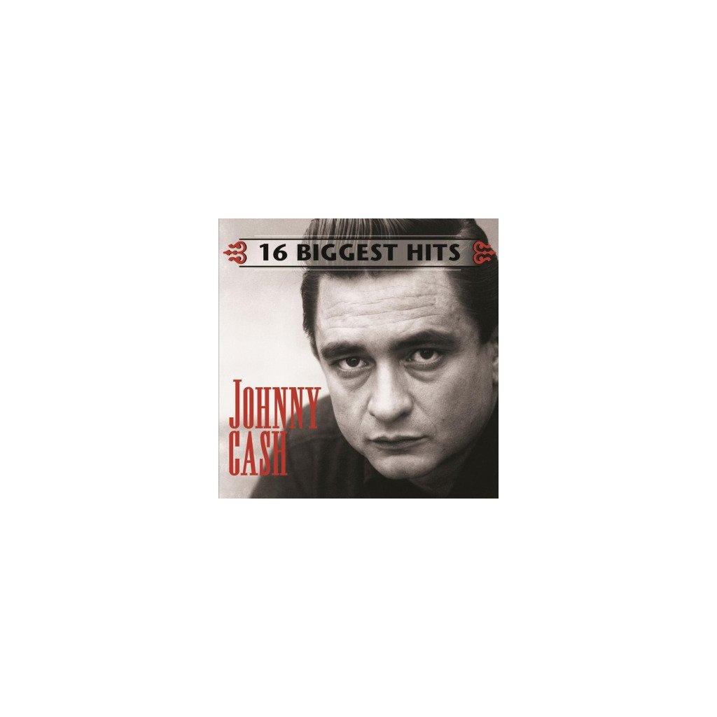 VINYLO.SK   JOHNNY CASH 16 Biggest Hits