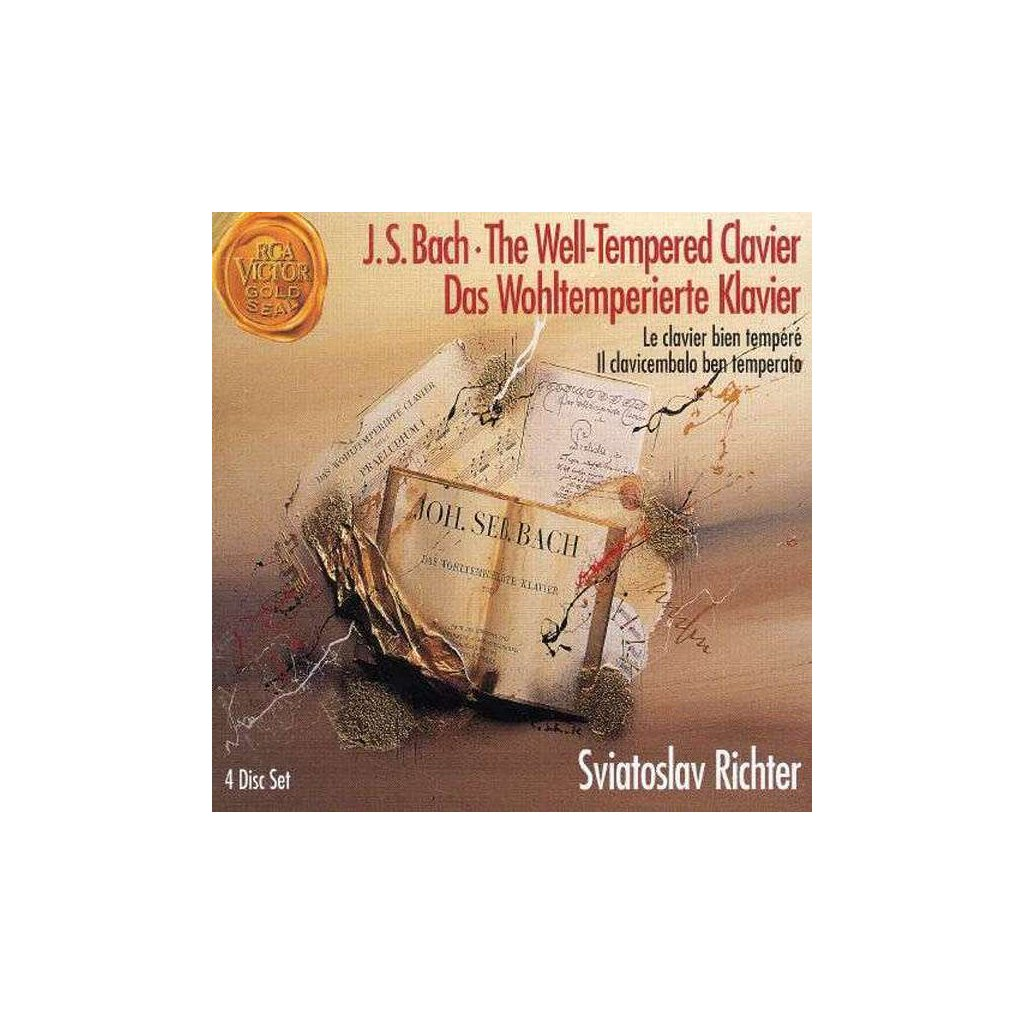 VINYLO.SK | BACH, J.S. - THE WELL-TEMPERED CLAVIER [4CD]