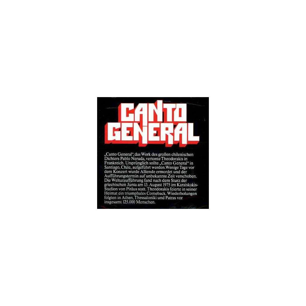 VINYLO.SK | THEODORAKIS, M. - CANTO GENERAL [2CD]