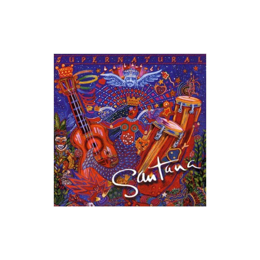 VINYLO.SK | SANTANA - SUPERNATURAL [CD]