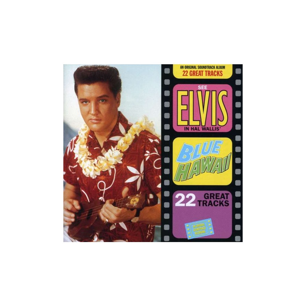 VINYLO.SK | PRESLEY, ELVIS - BLUE HAWAII -OST- [CD]
