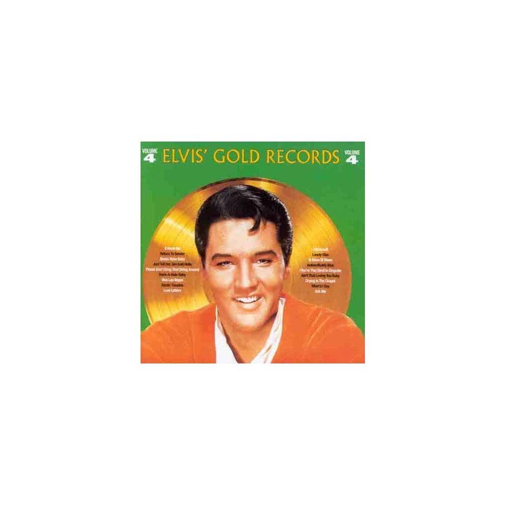 VINYLO.SK | PRESLEY, ELVIS - ELVIS GOLDEN RECORDS 4 [CD]