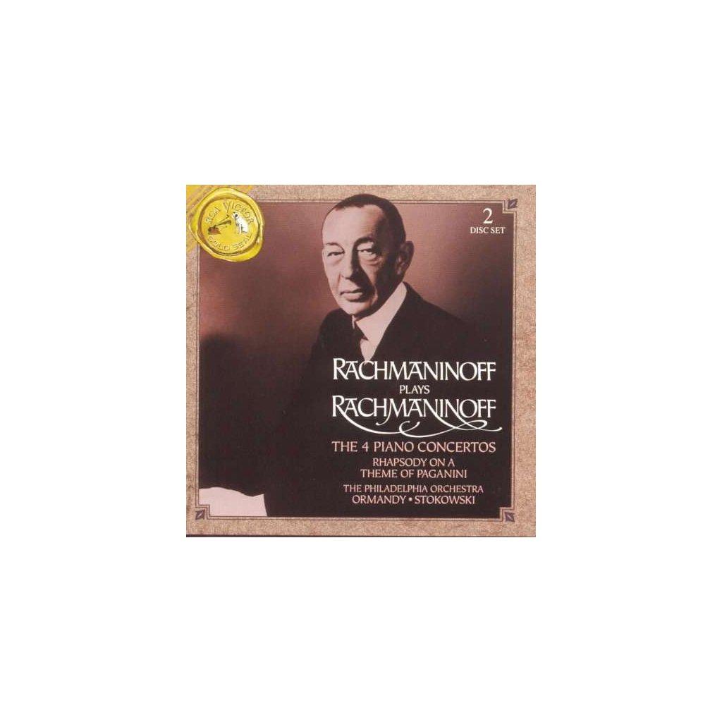 VINYLO.SK | RACHMANINOV, S. - 4 PIANO CONCERTOS [2CD]