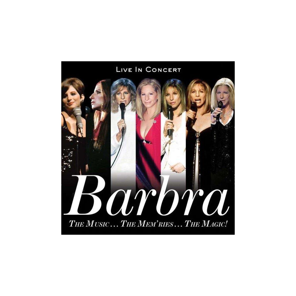 VINYLO.SK | STREISAND, BARBRA - THE MUSIC... THE MEM'RIES... THE MAGIC! (LIVE IN CONCERT) / Deluxe [2CD]