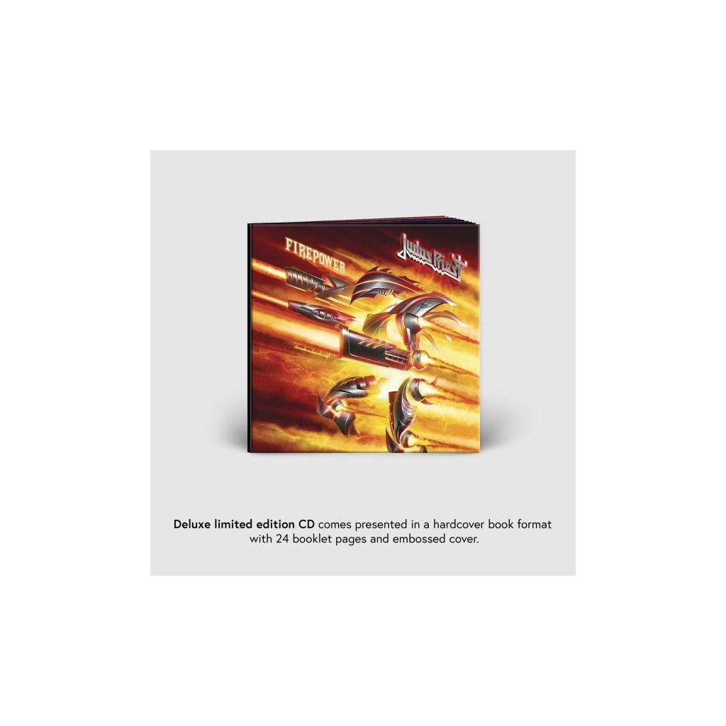 VINYLO.SK | JUDAS PRIEST - FIREPOWER / Deluxe [CD]