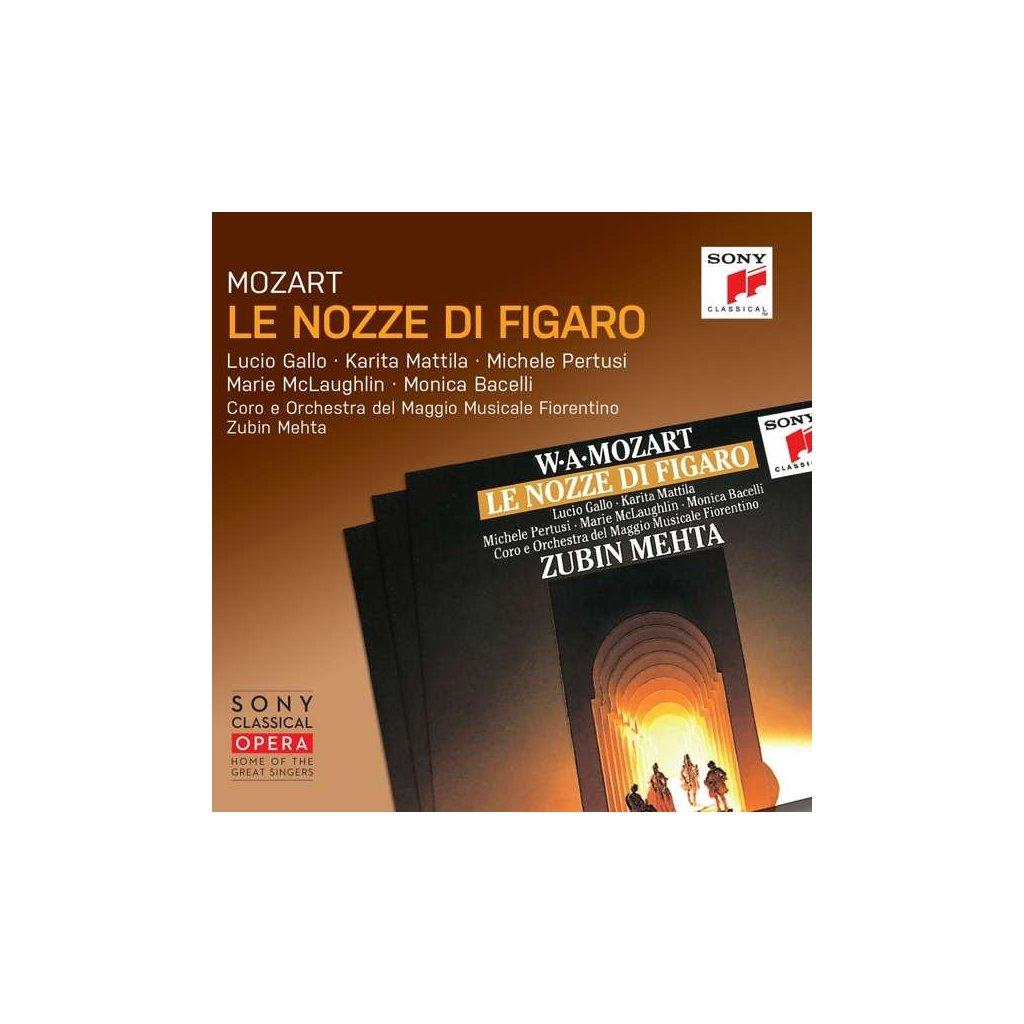VINYLO.SK   MOZART, W.A. - LE NOZZE DI FIGARO [3CD]