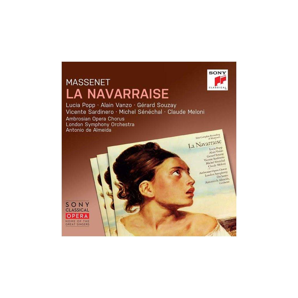 VINYLO.SK | MASSENET, J. - LA NAVARRAISE [CD]