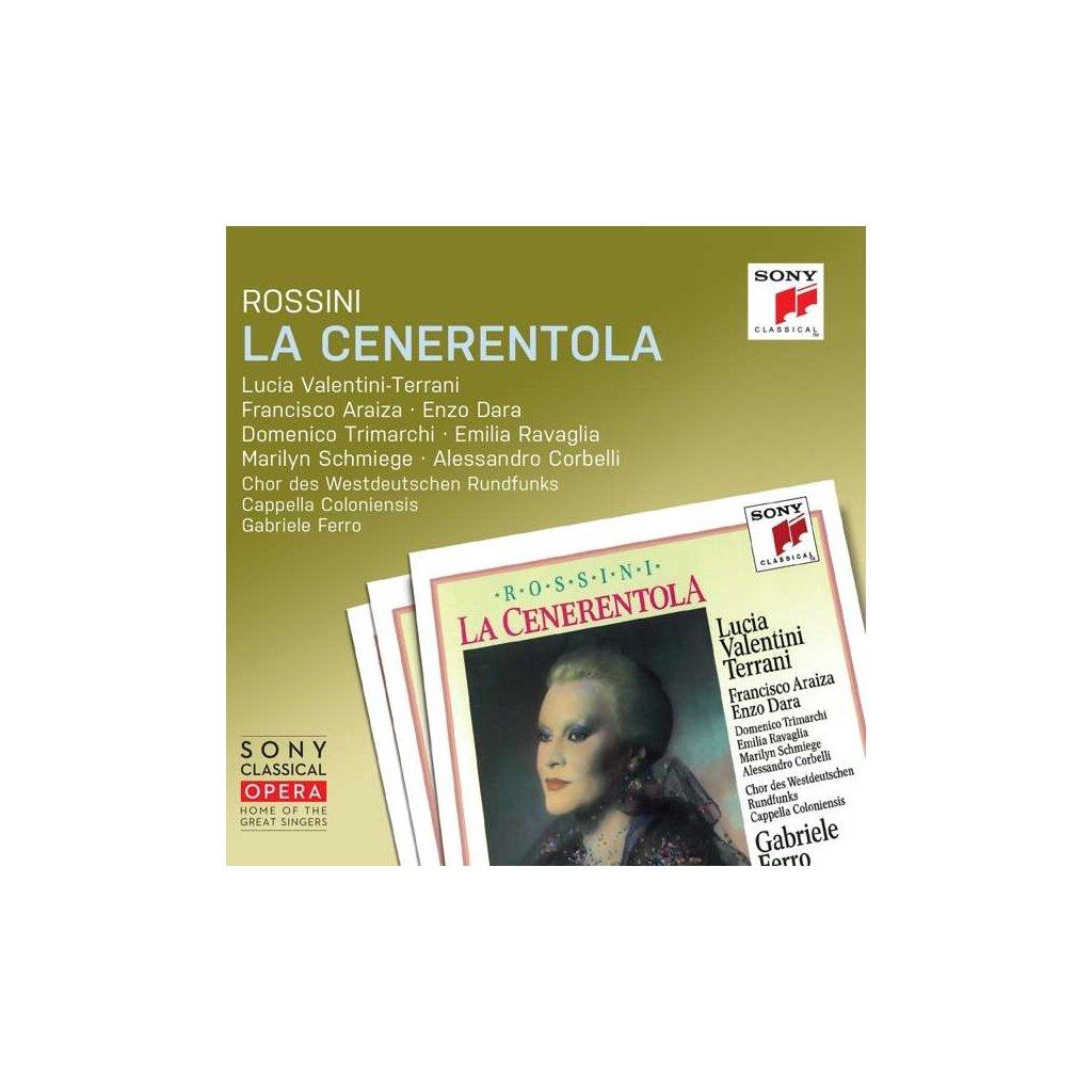 VINYLO.SK   ROSSINI, G. - LA CENERENTOLA [2CD]
