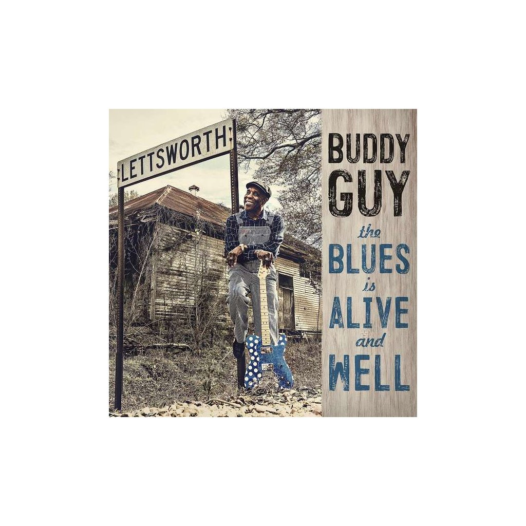 VINYLO.SK | GUY, BUDDY - THE BLUES IS ALIVE AND WELL [CD]