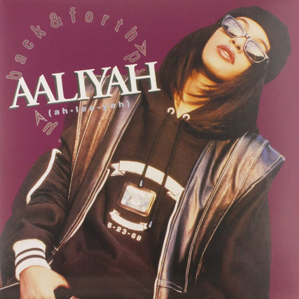 "AALIYAH ♫ BACK & FORTH / Colored [EP12"" Maxi]"