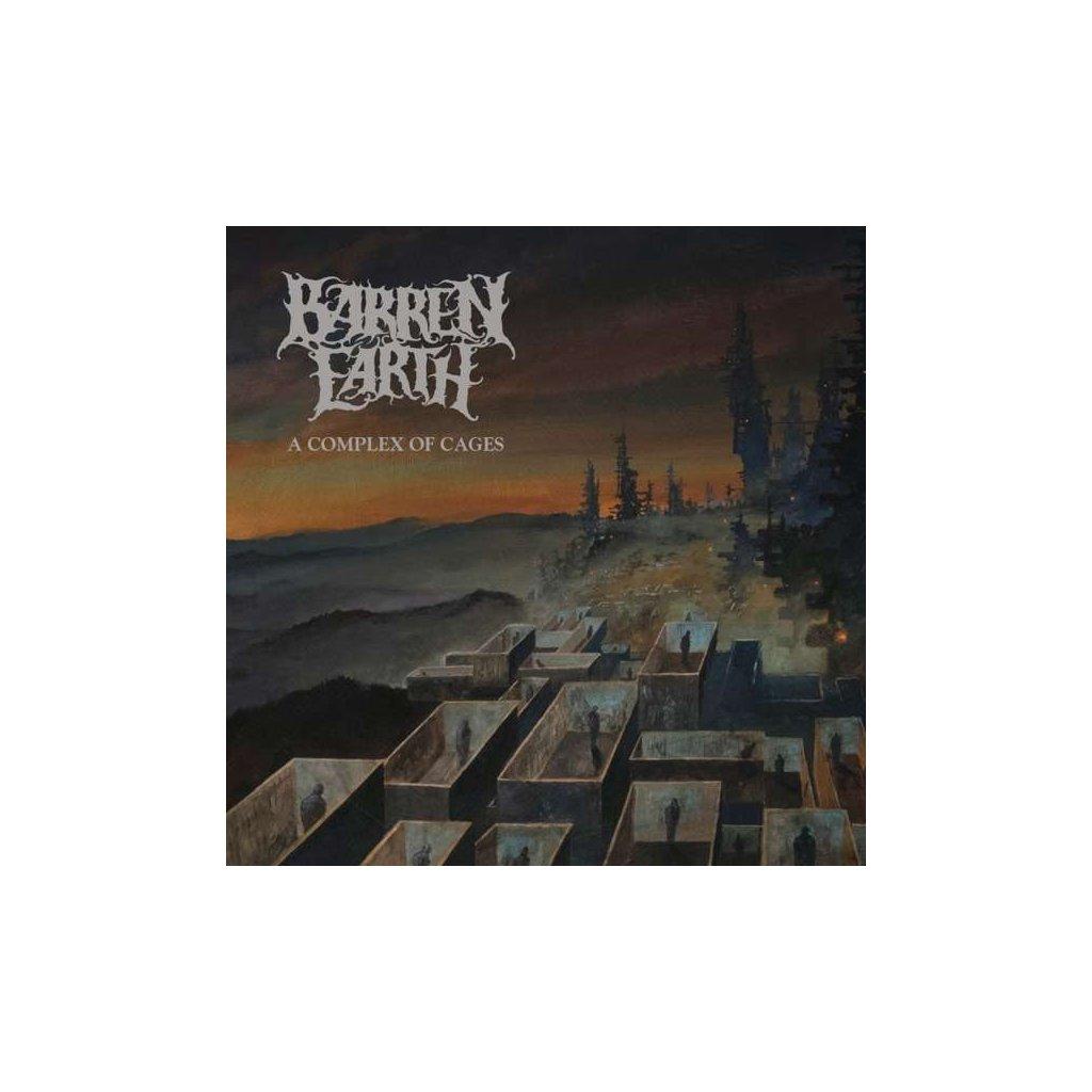 VINYLO.SK | BARREN EARTH - A COMPLEX OF CAGES [2LP + CD]