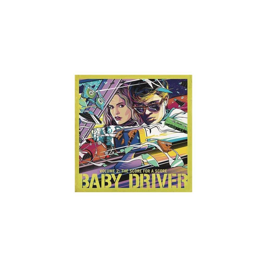 VINYLO.SK | OST - BABY DRIVER VOLUME 2: THE SCORE FOR A SCORE [LP]