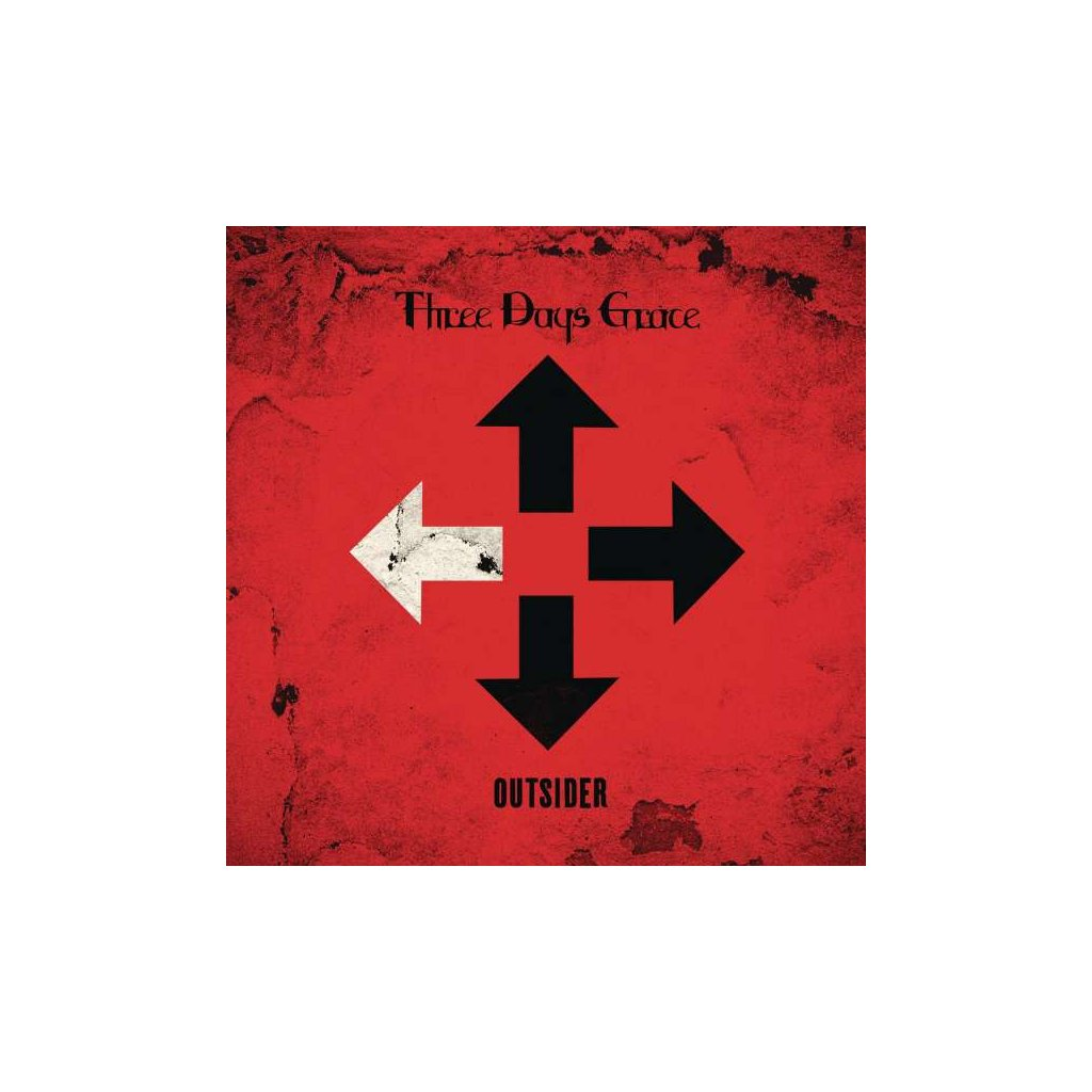VINYLO.SK   THREE DAYS GRACE - OUTSIDER [CD]