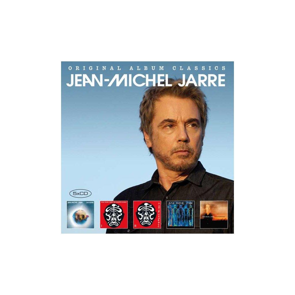 VINYLO.SK | JARRE, JEAN-MICHEL - ORIGINAL ALBUM CLASSICS2 [5CD]