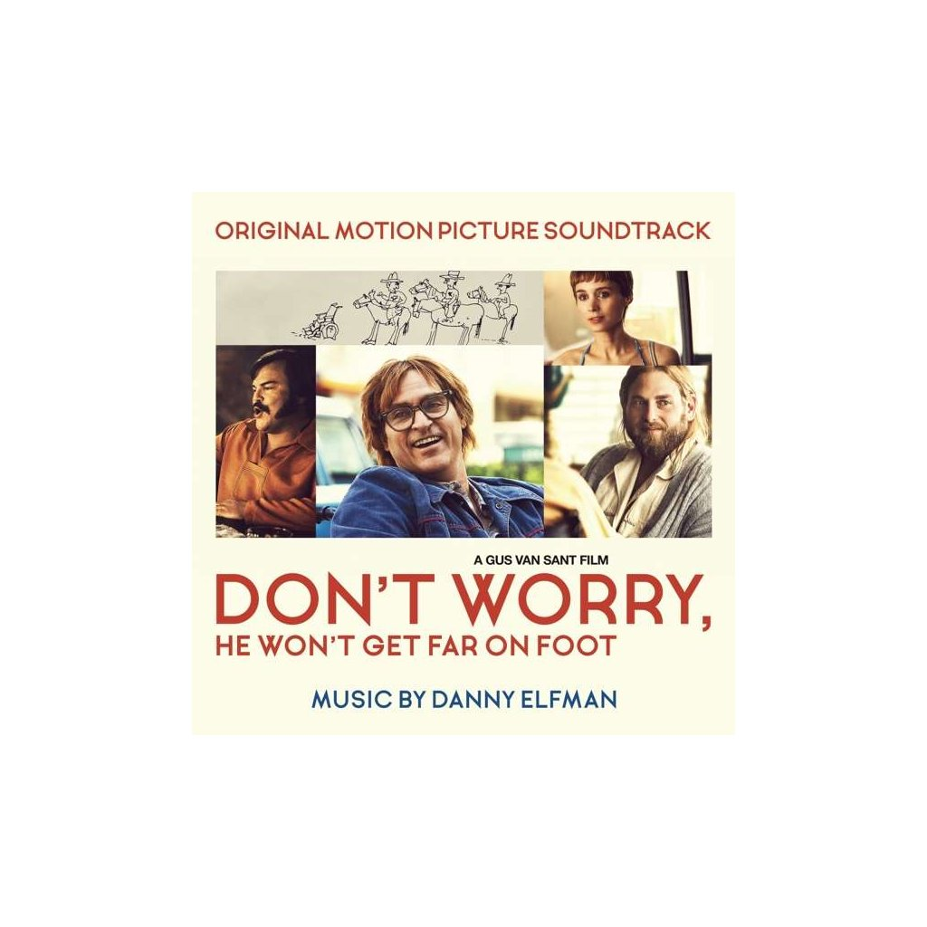 VINYLO.SK | OST - DON'T WORRY, HE WON'T GET FAR ON FOOT (ORIGINAL MOTION PICTURE SOUNDTRACK) [CD]