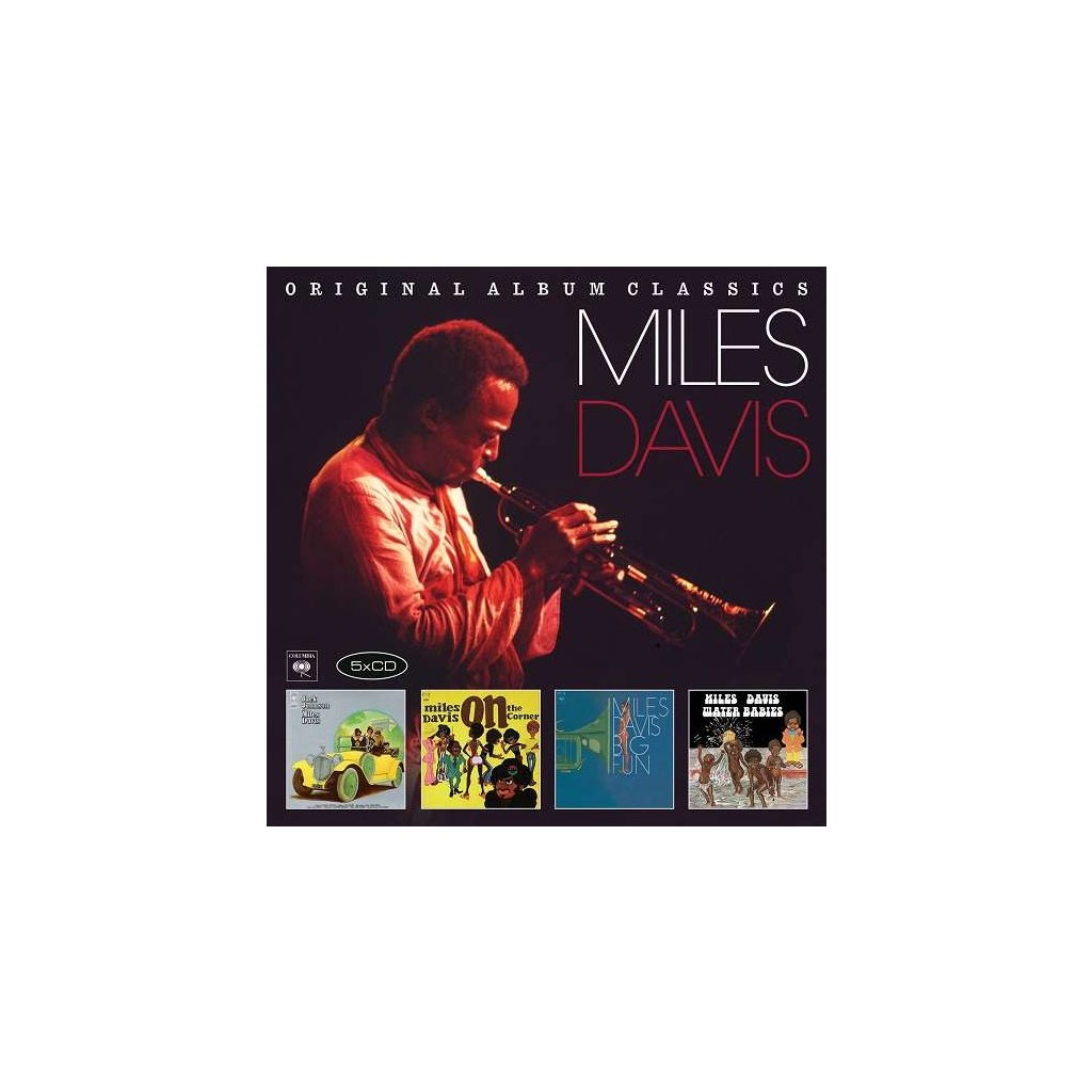 VINYLO.SK | DAVIS, MILES - ORIGINAL ALBUM CLASSICS [5CD]