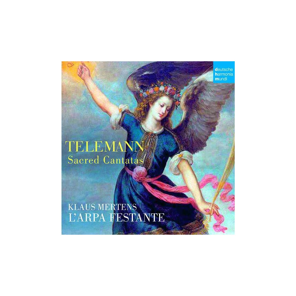 VINYLO.SK | TELEMANN, G.P. - SACRED CANTATAS [CD]