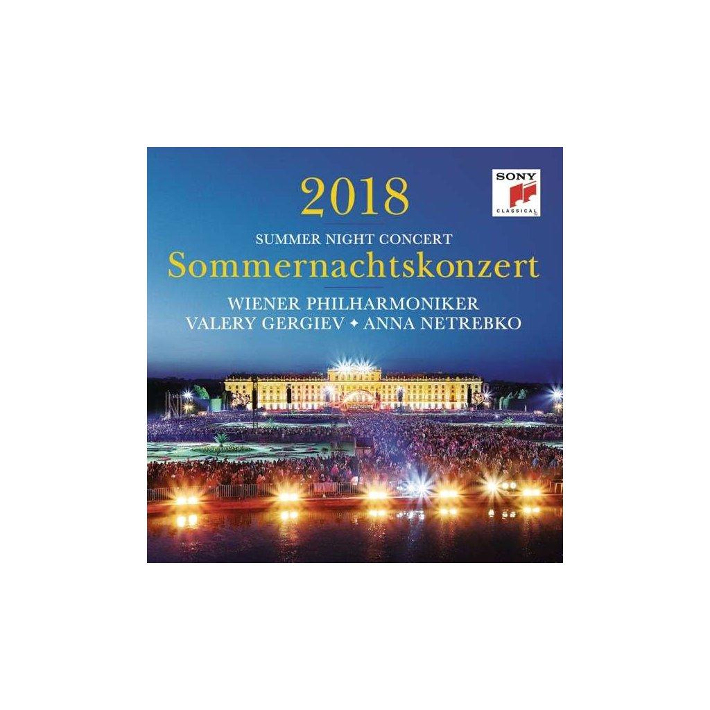 VINYLO.SK | WIENER PHILHARMONIKER - SOMMERNACHTSKONZERT 2018 [CD]
