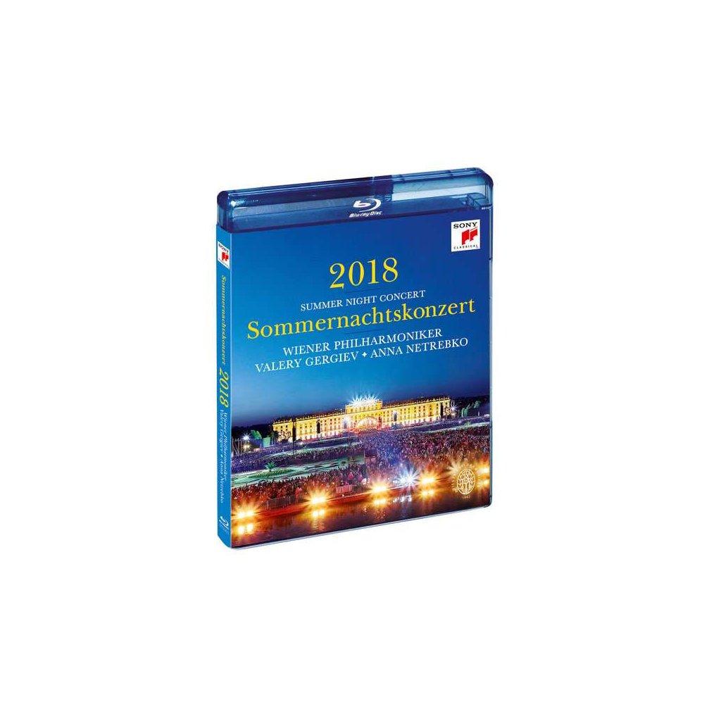 VINYLO.SK | WIENER PHILHARMONIKER - SOMMERNACHTSKONZERT 2018 [Blu-Ray]