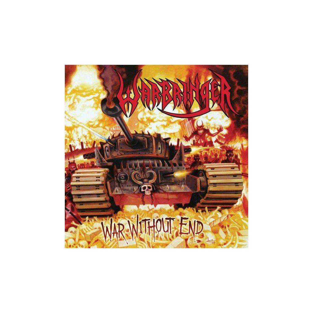 VINYLO.SK | WARBRINGER - WAR WITHOUT END [LP + CD]