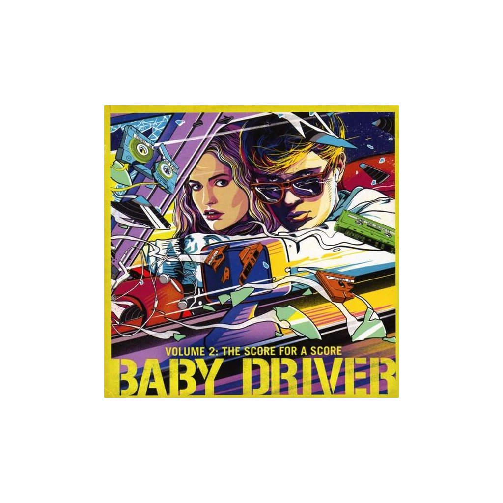 VINYLO.SK | OST - BABY DRIVER VOLUME 2: THE SCORE FOR A SCORE [CD]