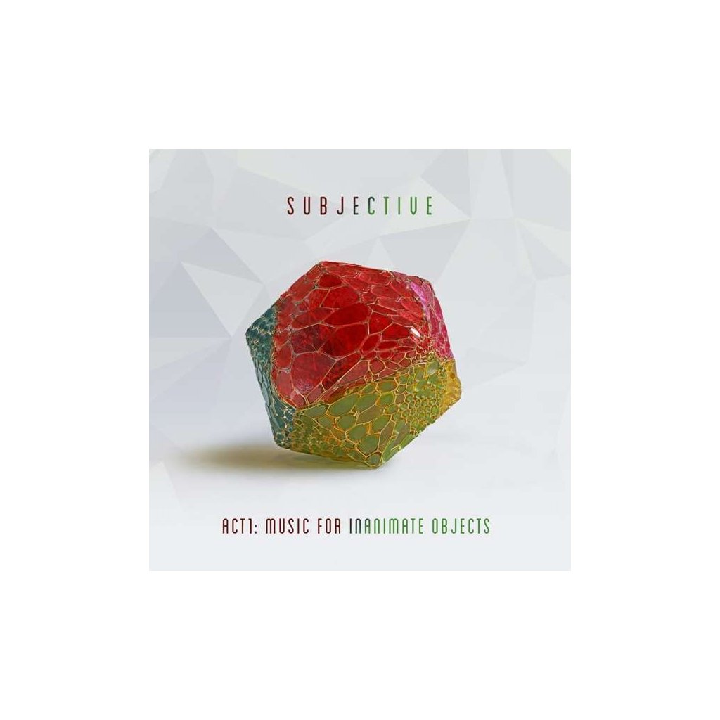 VINYLO.SK   SUBJECTIVE - ACT1: MUSIC FOR INANIMATE OBJECTS [CD]