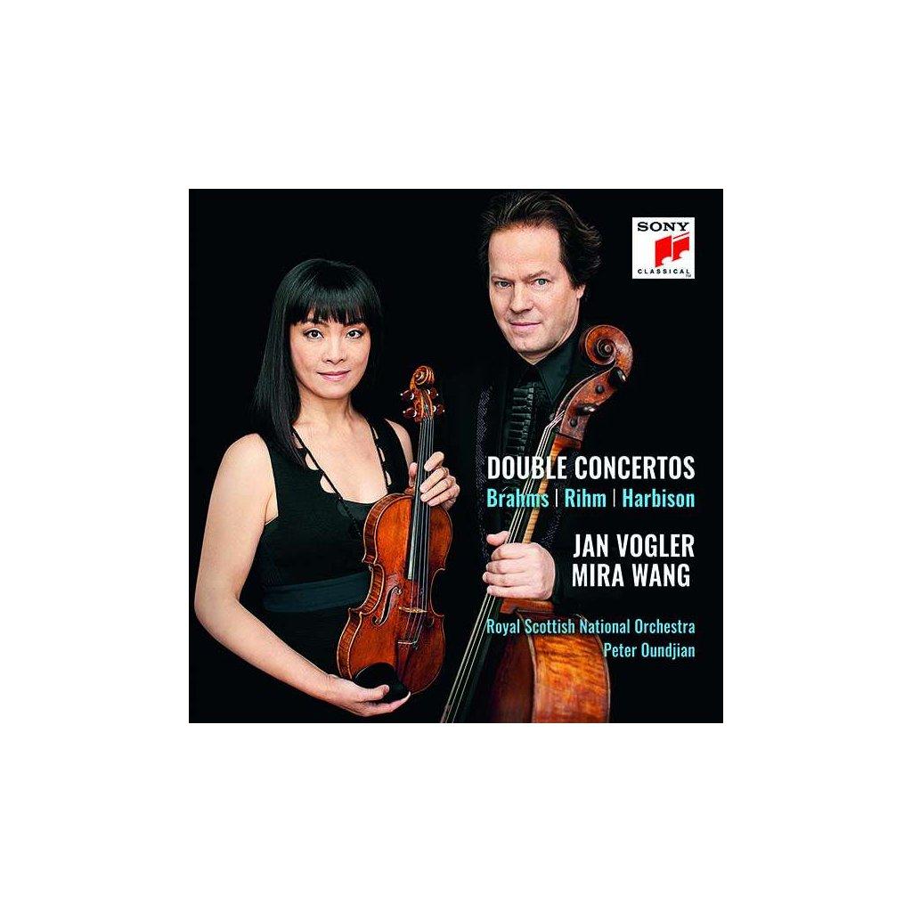 VINYLO.SK   BRAHMS / RIHM / HARBISON - DOUBLE CONCERTOS [CD]