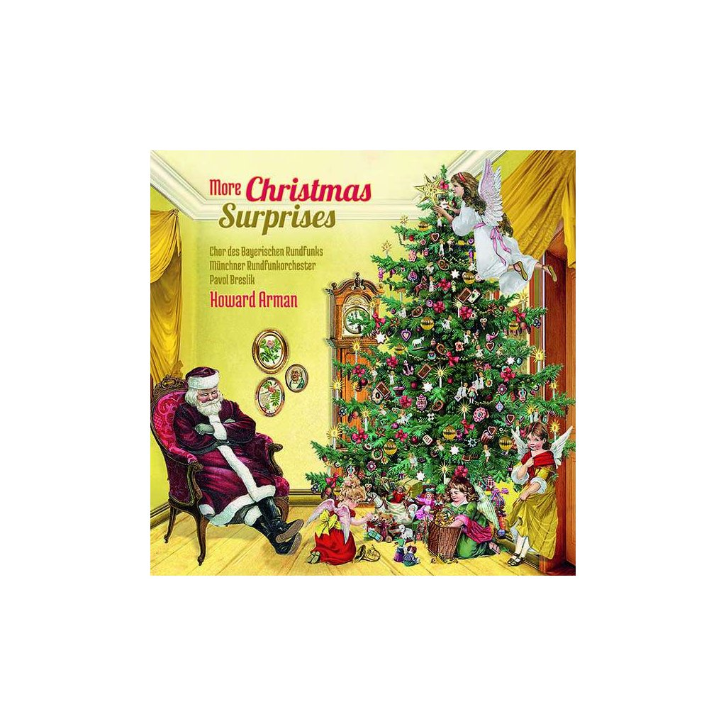 VINYLO.SK | ARMAN, HOWARD - MORE CHRISTMAS SURPRISES [CD]