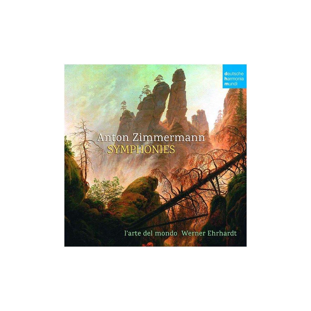 VINYLO.SK   ZIMMERMANN, A. - SYMPHONIES [CD]