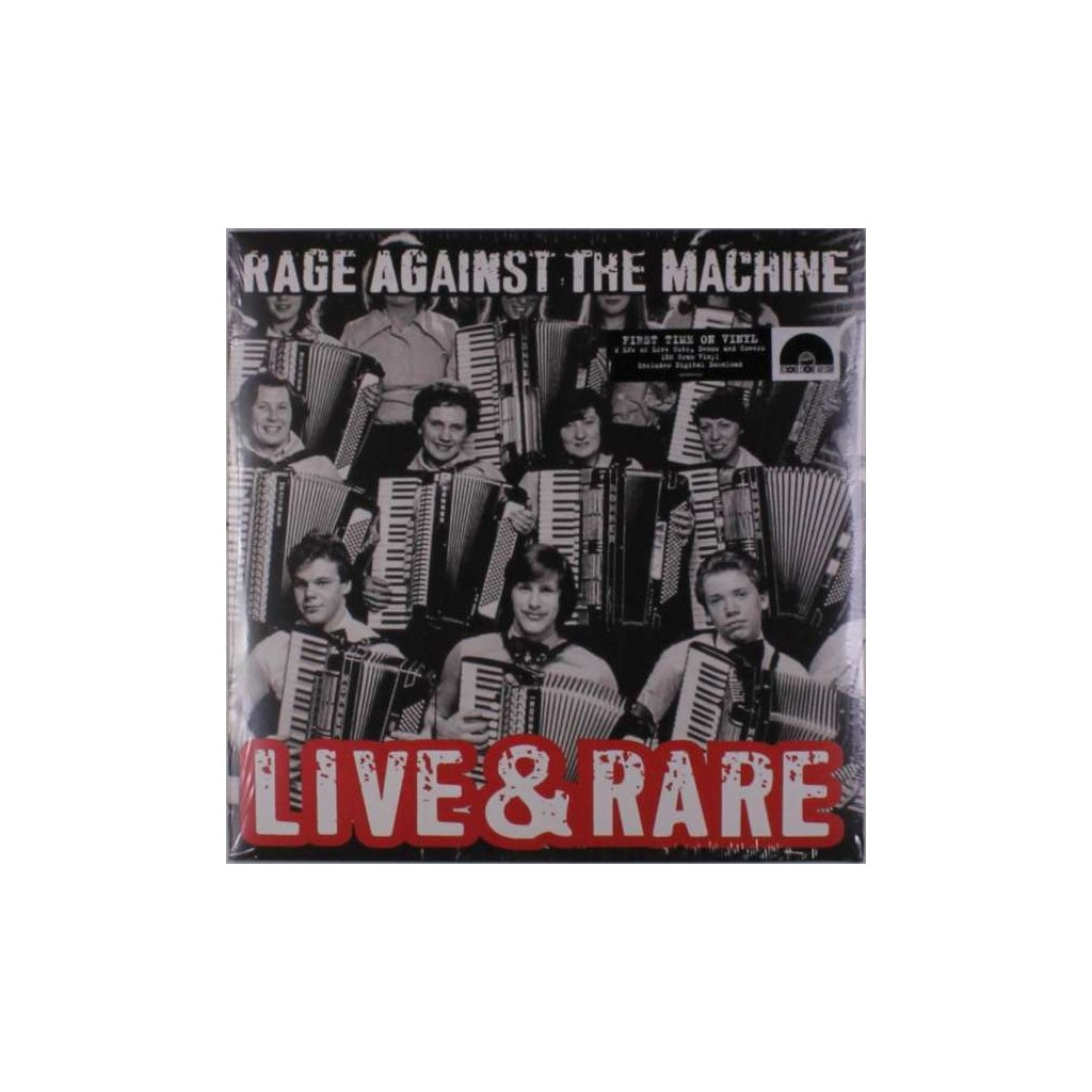 VINYLO.SK | RAGE AGAINST THE MACHINE - LIVE & RARE / HQ [2LP]