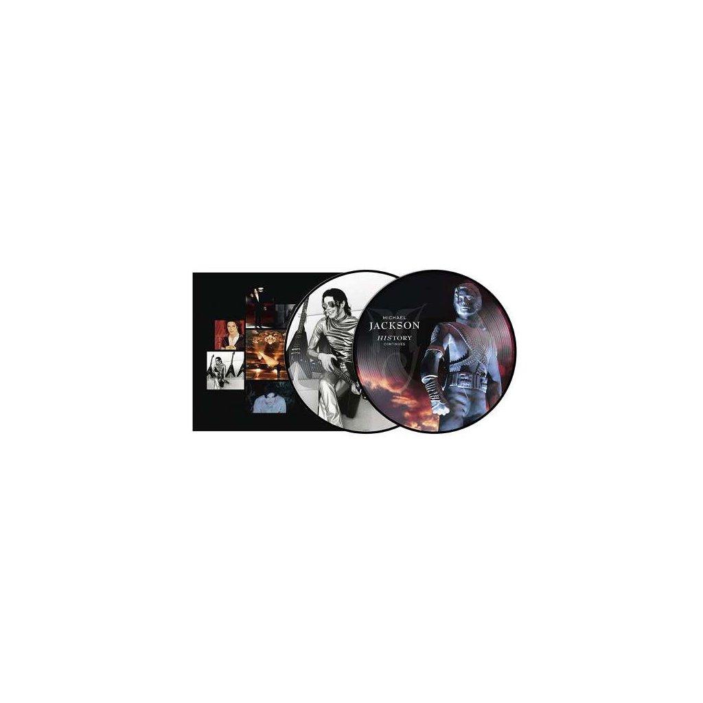 VINYLO.SK   JACKSON, MICHAEL - HISTORY: CONTINUES / PICTURE DISC [2LP]