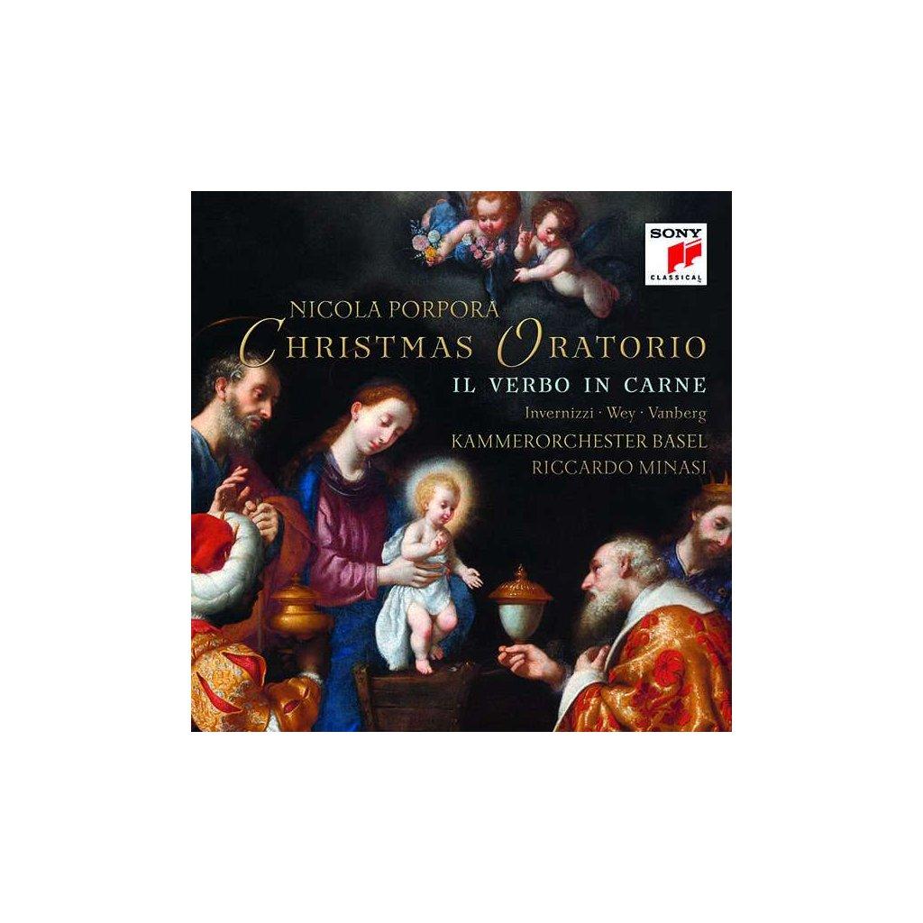 VINYLO.SK | KAMMERORCHESTER BASEL - PORPORA: IL VERBO IN CARNE (CHRISTMAS ORATORIO) [CD]
