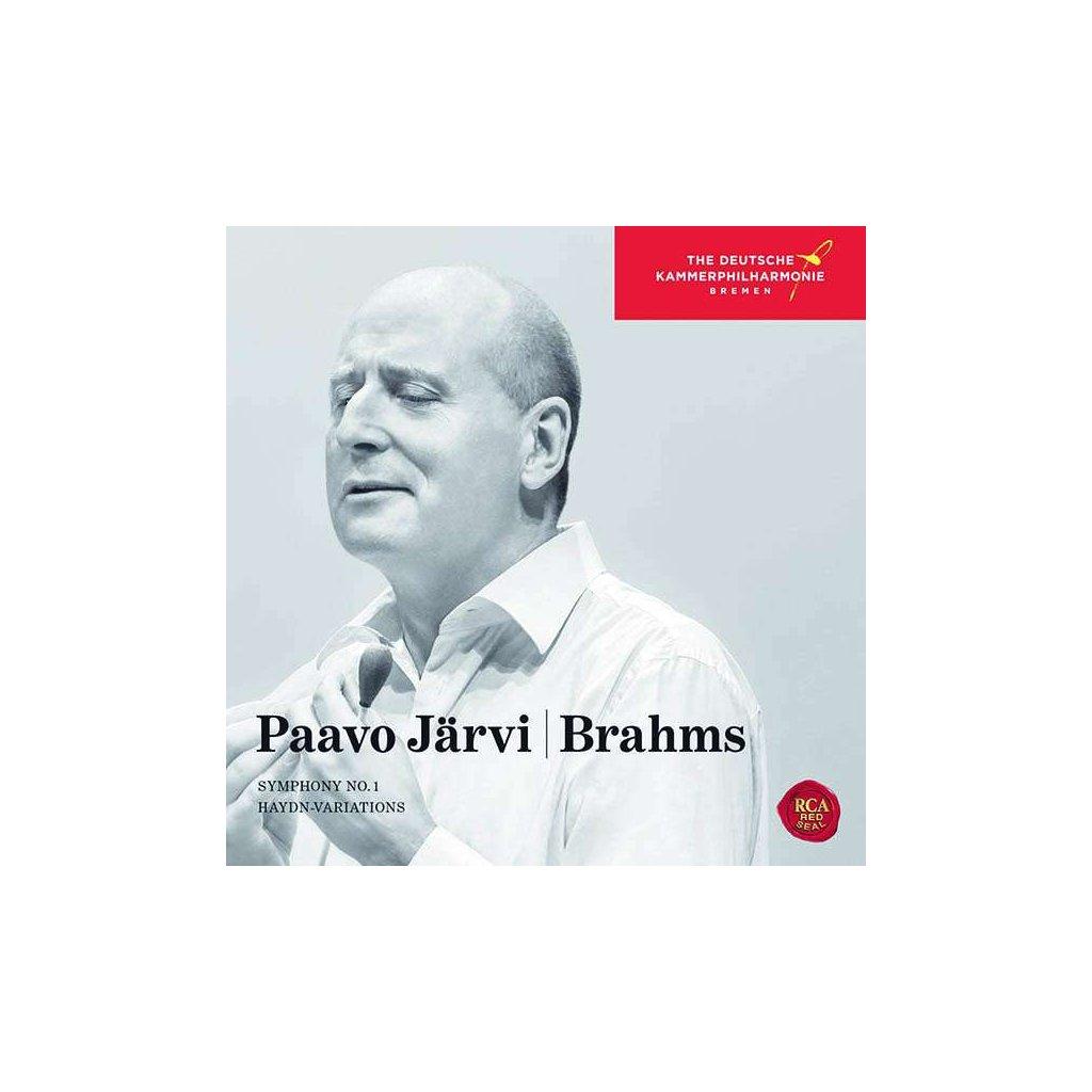 VINYLO.SK | JARVI, PAAVO - BRAHMS: SYMPHONY NO. 1. [CD]