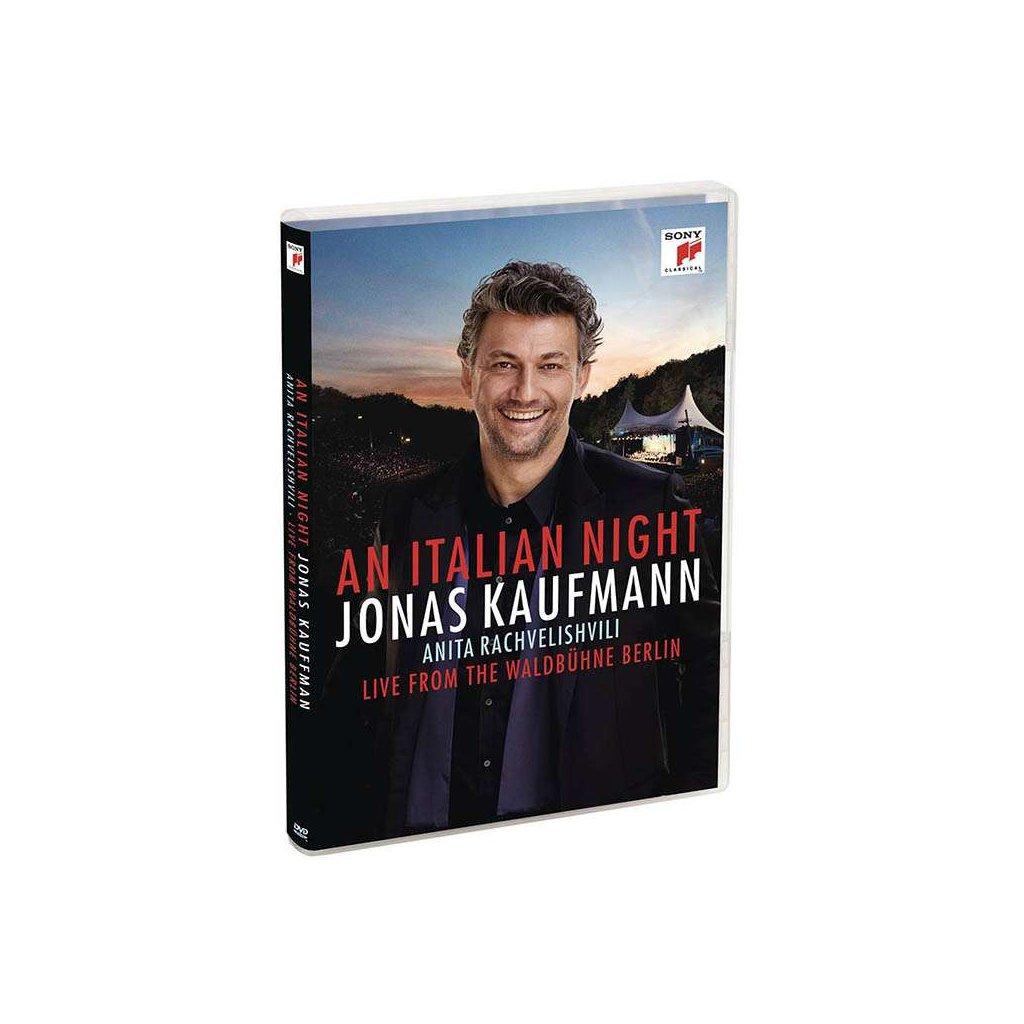 VINYLO.SK | KAUFMANN, JONAS - AN ITALIAN NIGHT - LIVE FROM THE WALDBUHNE BERLIN -LIVE- [DVD]