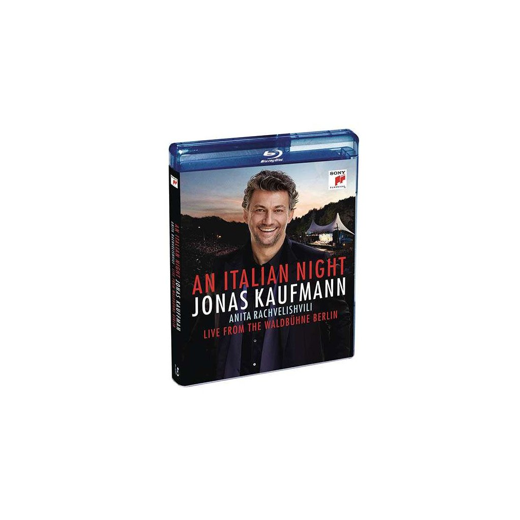 VINYLO.SK | KAUFMANN, JONAS - AN ITALIAN NIGHT - LIVE FROM THE WALDBUHNE BERLIN -LIVE- [Blu-Ray]