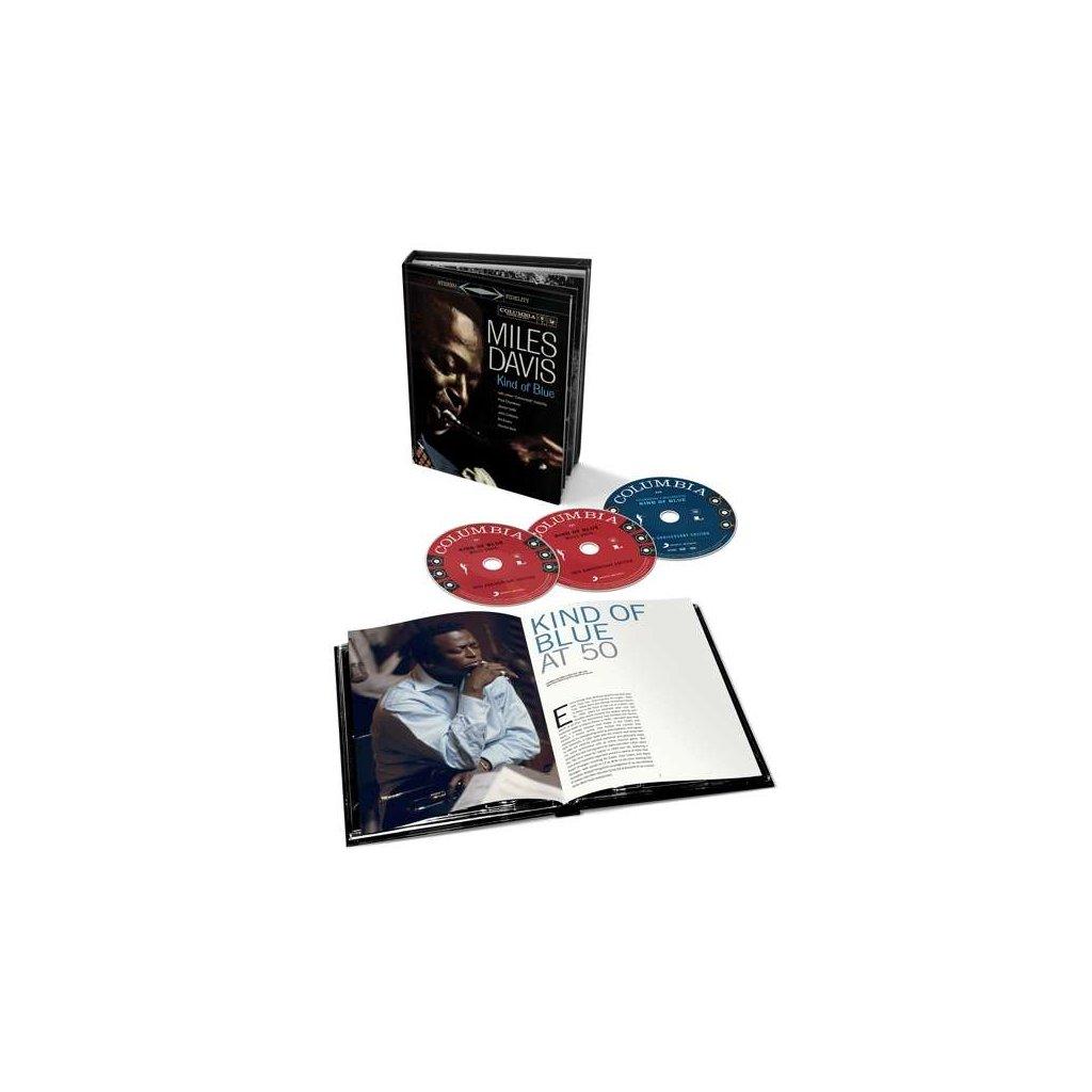 VINYLO.SK | DAVIS, MILES - KIND OF BLUE / Collectors [3CD]