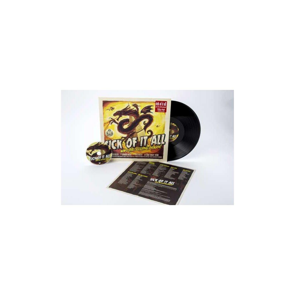VINYLO.SK | SICK OF IT ALL - WAKE THE SLEEPING DRAGON! [LP + CD]
