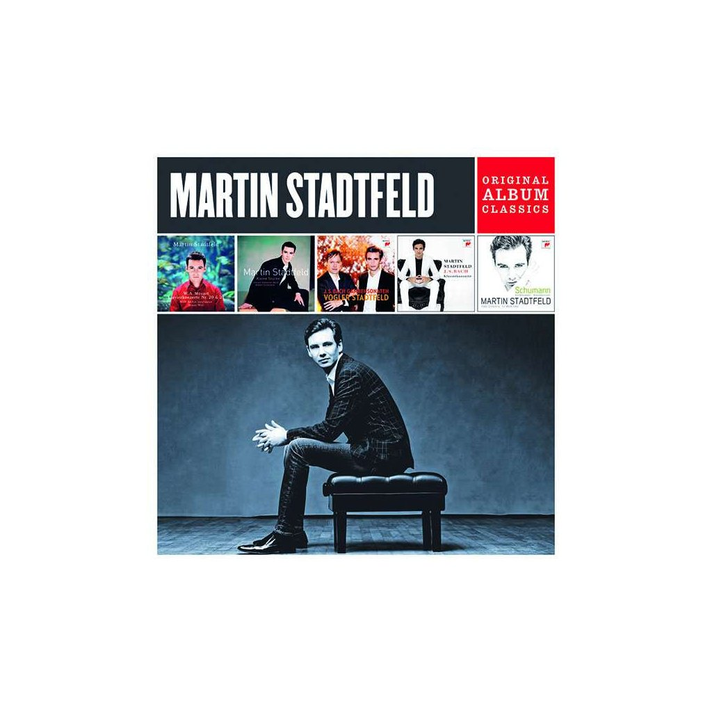 VINYLO.SK | STADTFELD, MARTIN - ORIGINAL ALBUM CLASSICS [5CD]