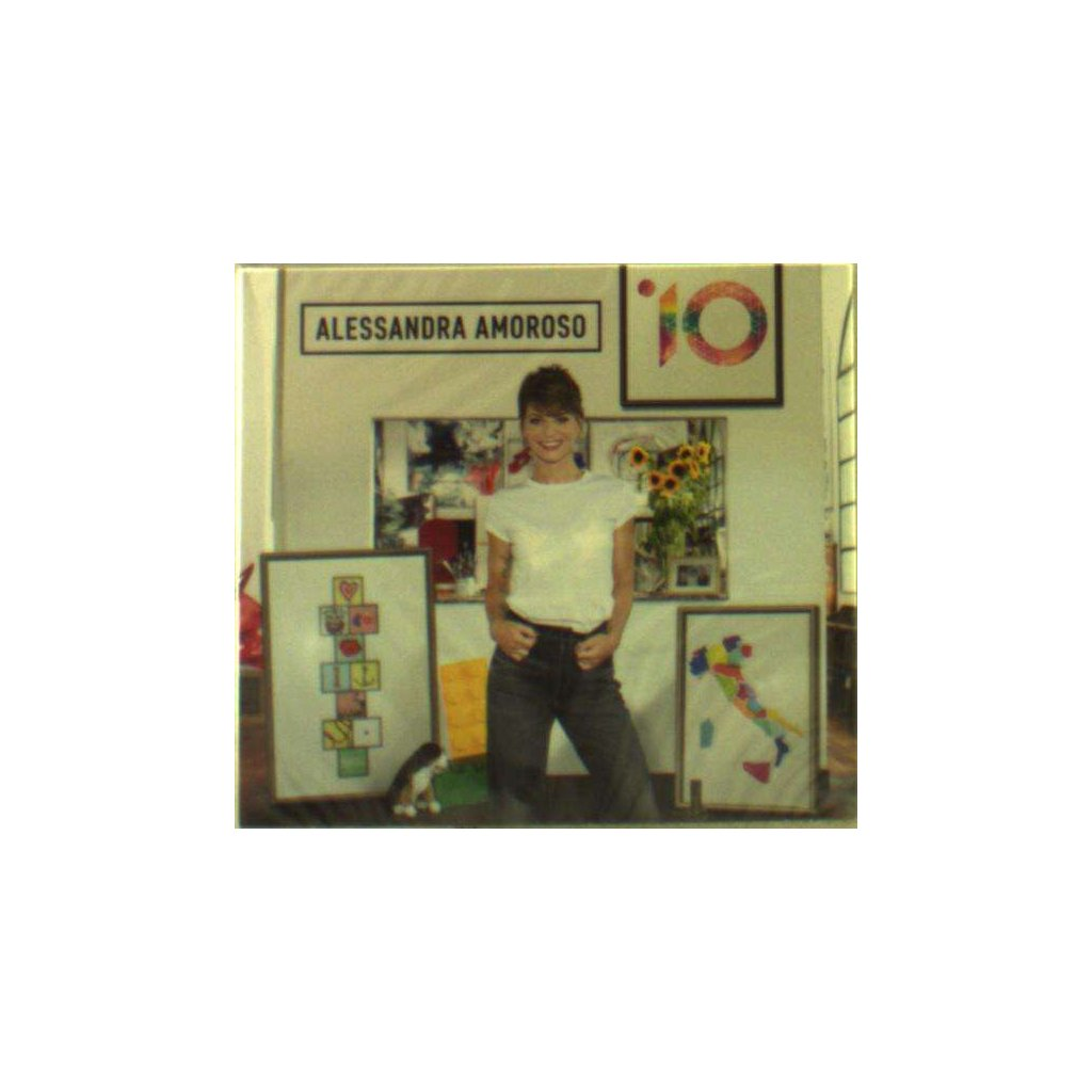 VINYLO.SK | AMOROSO, ALESSANDRA - 10 [CD]