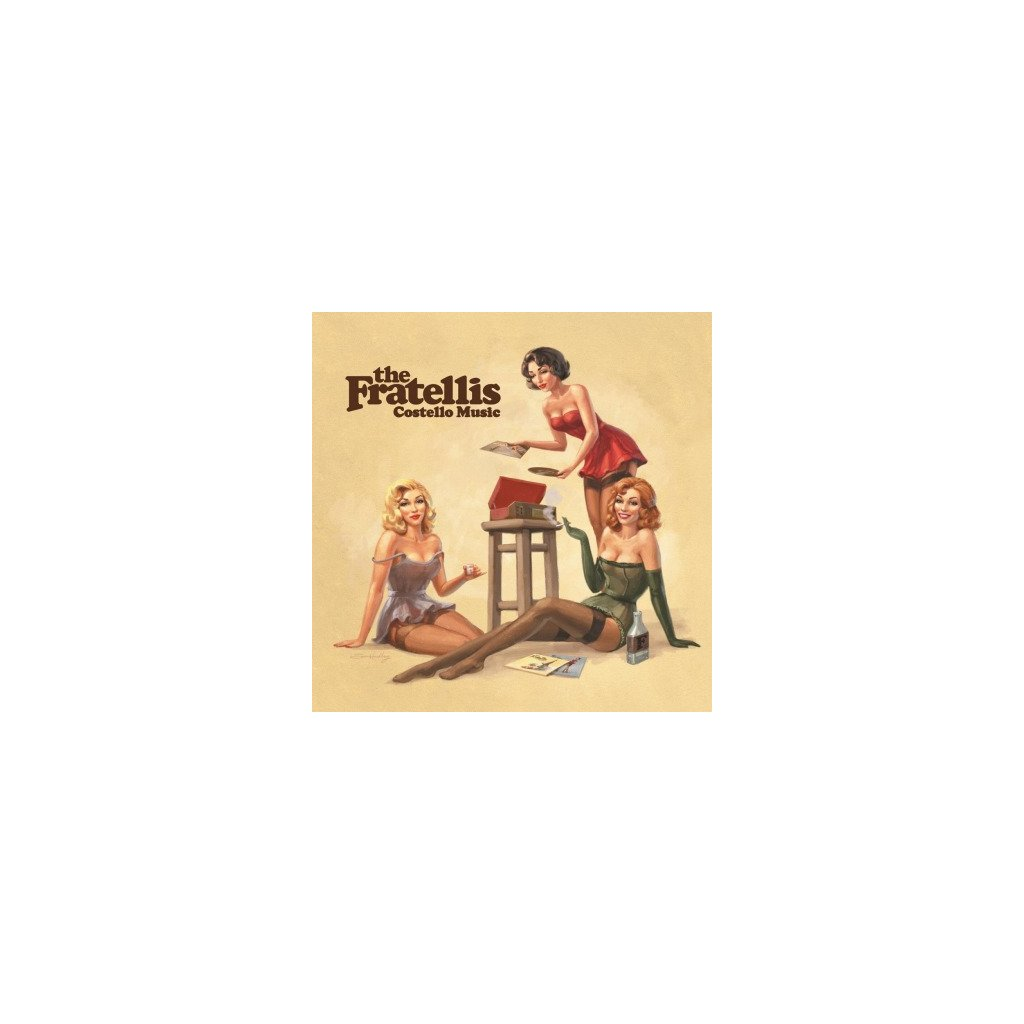 VINYLO.SK | FRATELLIS - COSTELLO MUSIC (LP)180GR. / INCL. INSERT