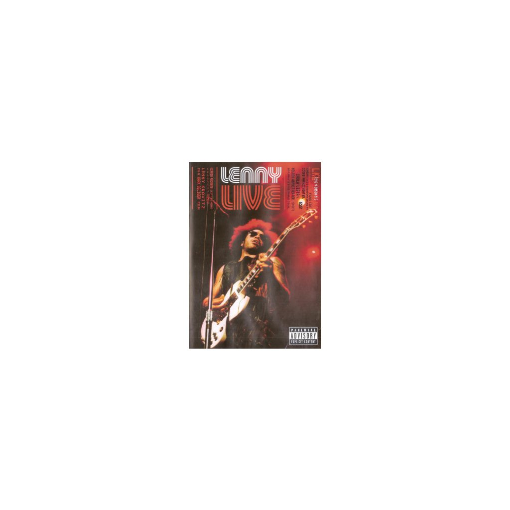 VINYLO.SK   KRAVITZ, LENNY ♫ LIVE [DVD] 0724349052994