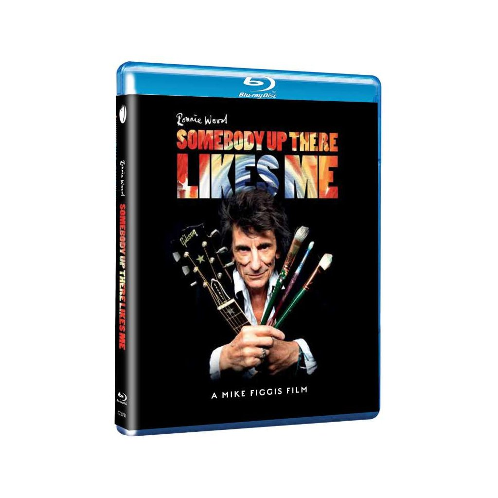 VINYLO.SK | WOOD RONNIE ♫ SOMEBODY UP THERE LIKES ME [Blu-ray] 0602507217815