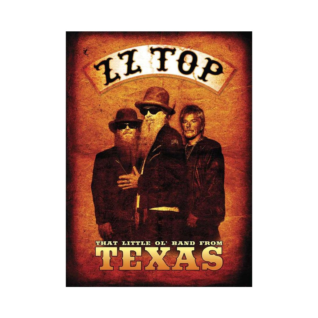 VINYLO.SK | ZZ TOP ♫ THAT LITTLE OL' BAND FROM TEXAS [DVD] 0602508413803