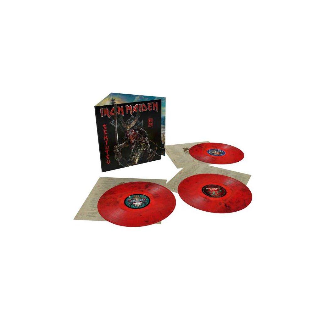 VINYLO.SK   Iron Maiden ♫ Senjutsu / Indies / Red & Black Vinyl [3LP] Vinyl 0190296718632