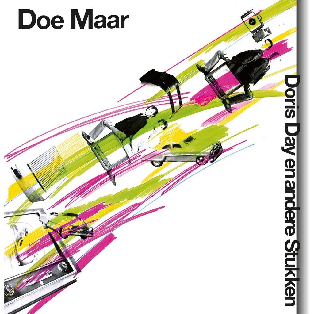 VINYLO.SK | DOE MAAR - DORIS DAY EN ANDERE STUKKEN [LP + CD] 180g BLACK VINYL