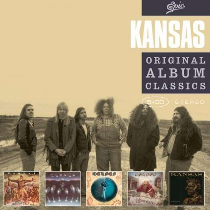 VINYLO.SK | KANSAS - ORIGINAL ALBUM CLASSICS [5CD]